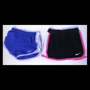 NIKE Toddler Girls 2T shorts& skirt bundle